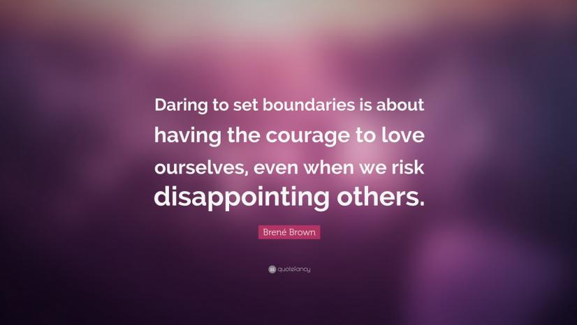 Setting Boundaries Quote
