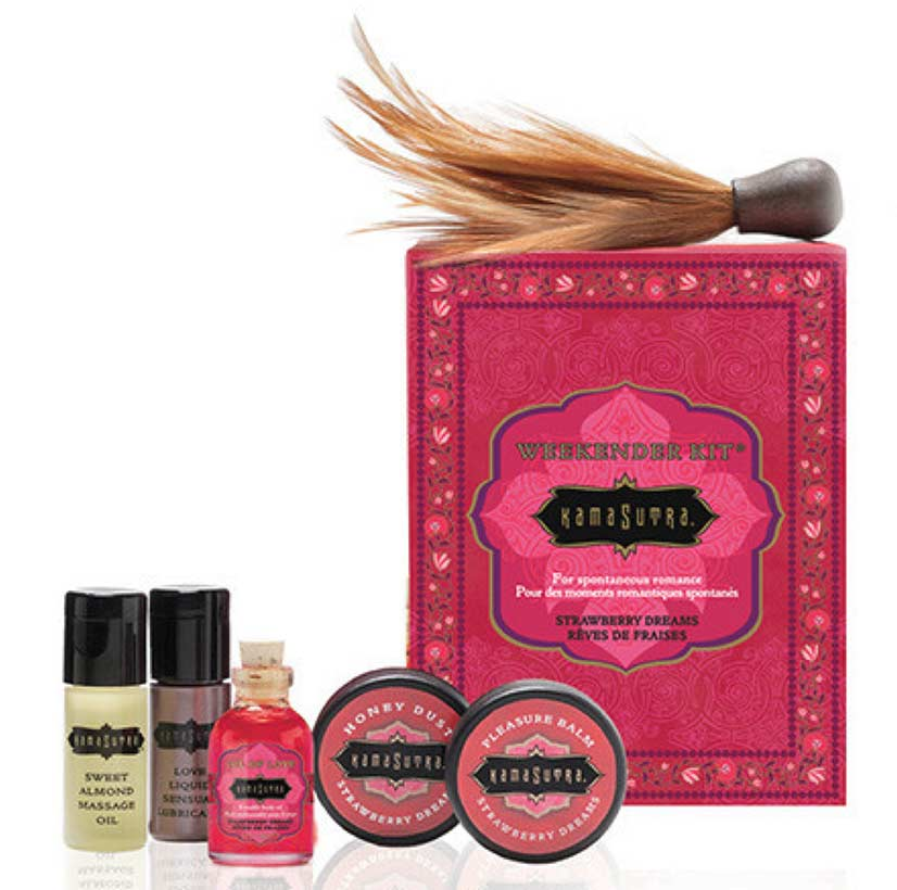 Strawberry Dreams Massage Kit