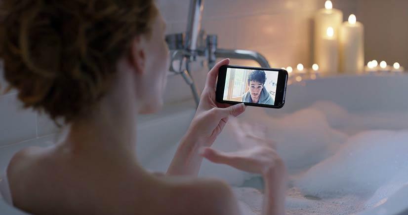 XXX webcam in bath